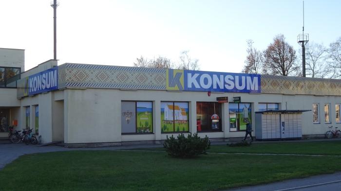 Konsum in Orissaare auf Saaremaa