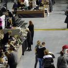 Die Messehalle kurz vor der Eröffnung