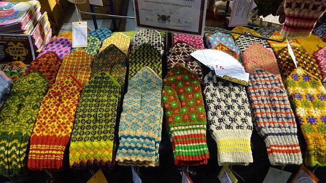 Handschuhe der Nordic Knitters