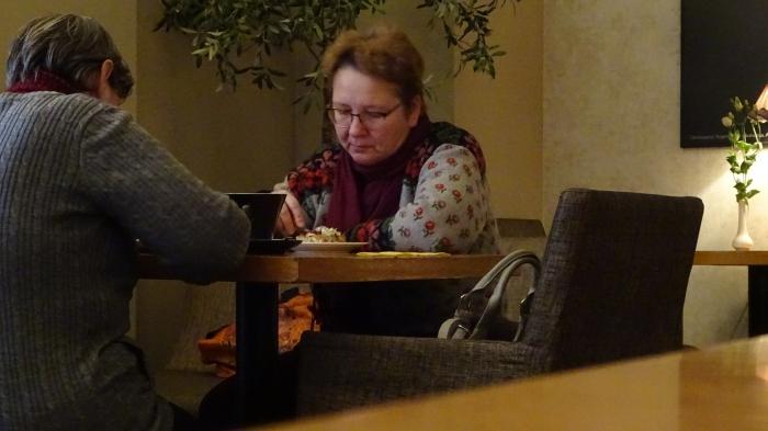 Tartu: Im Café Werner