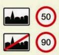 Ortseinfahrtszeichen