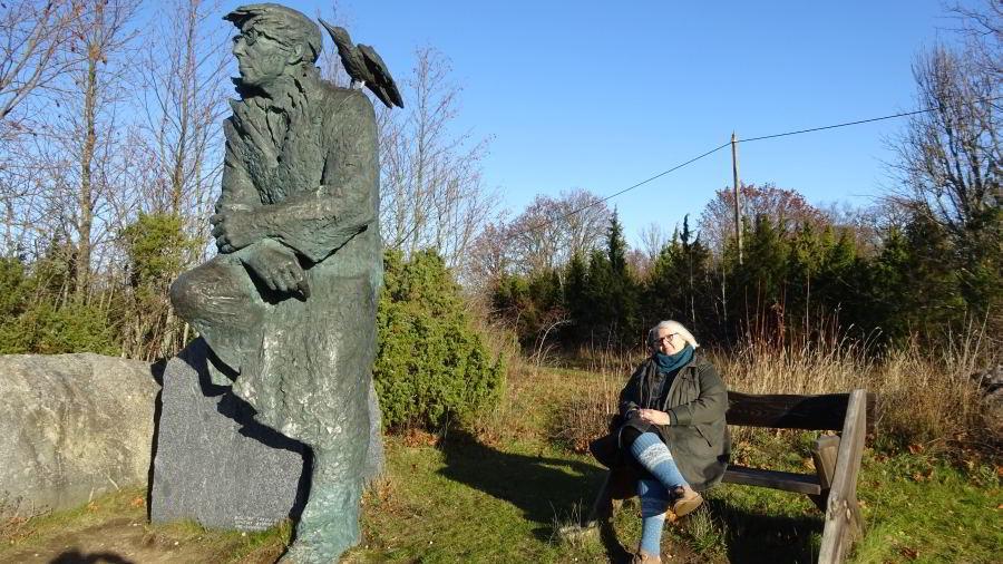Der Dichter Jan Smuul und eine Leserin