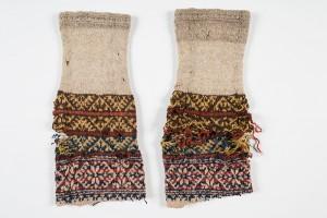 """Socken von der Insel Kihnu im """"Eesti Rahva Museum"""" in Tartu, aus dem Jahre 1910"""