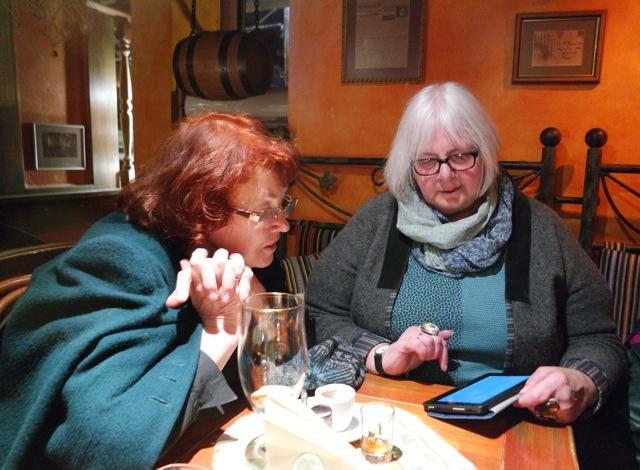 Maruta Grasmane und ich