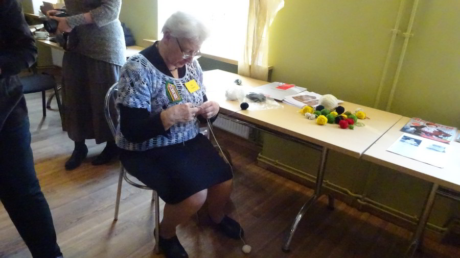 Ina Valtere – eine lettische Meisterstrickerin