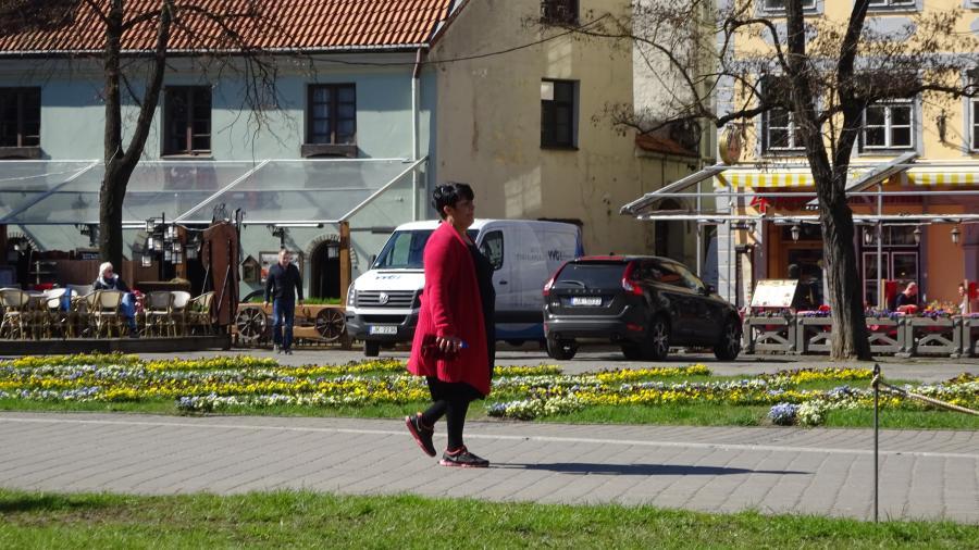 Frühling in Riga