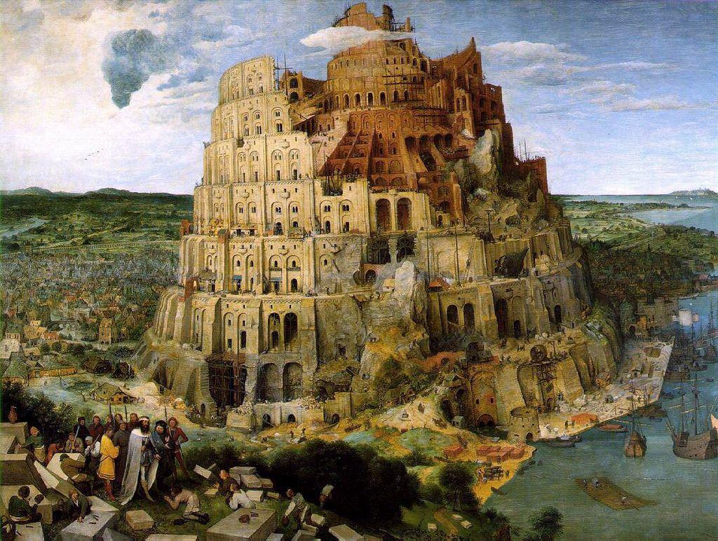 Babylonische Strickverwirrung – Globalisierungsgemansche