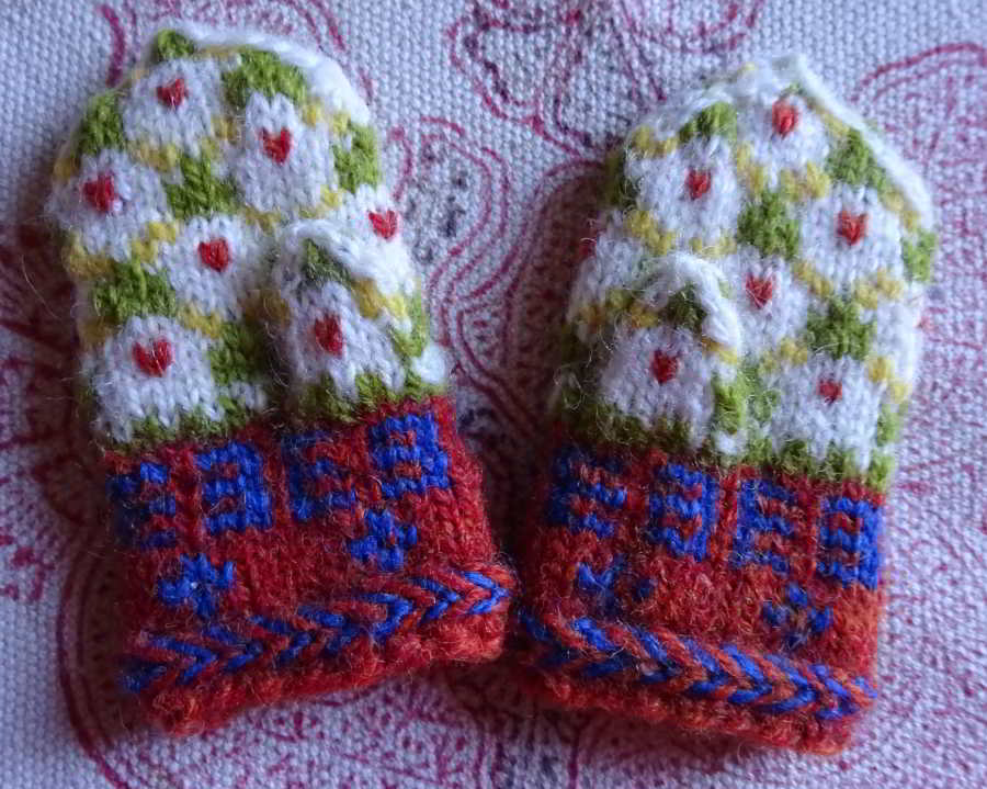 Bettysd's mini mitten