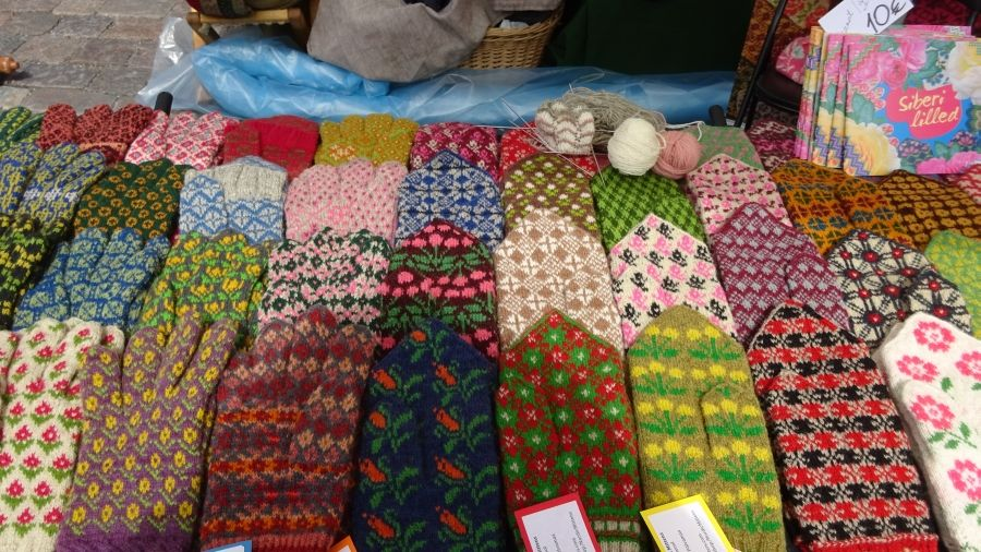 Nordic Knitters, Külli Jacobsons Handschuhe aus Seto in Südestlland