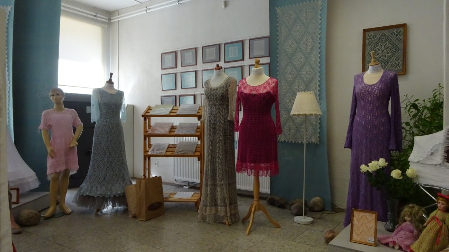 Im Lace Center in Haapsalu