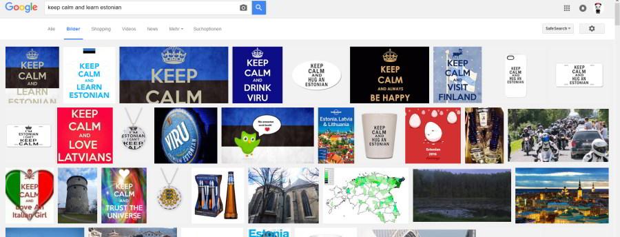 Keep calm and hug an estonian