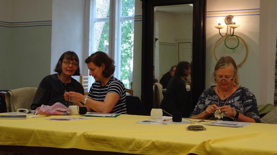 Konzentration und Freude im Workshop