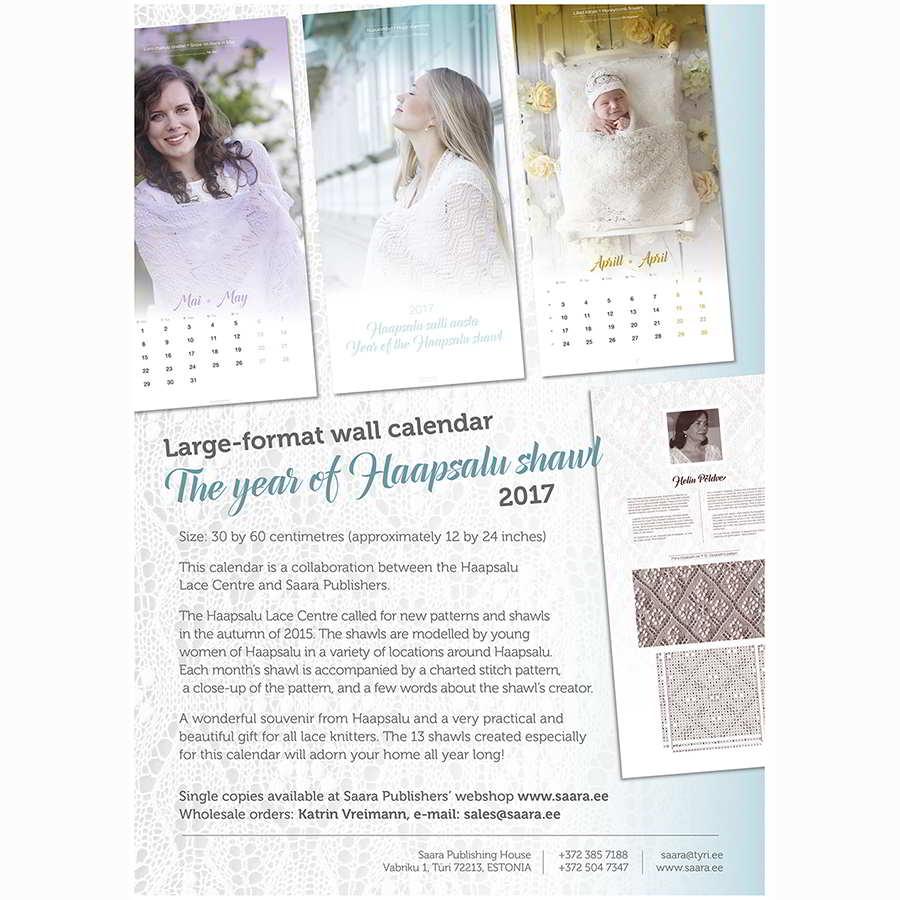 Haapsalu - Wandkalender für 2017