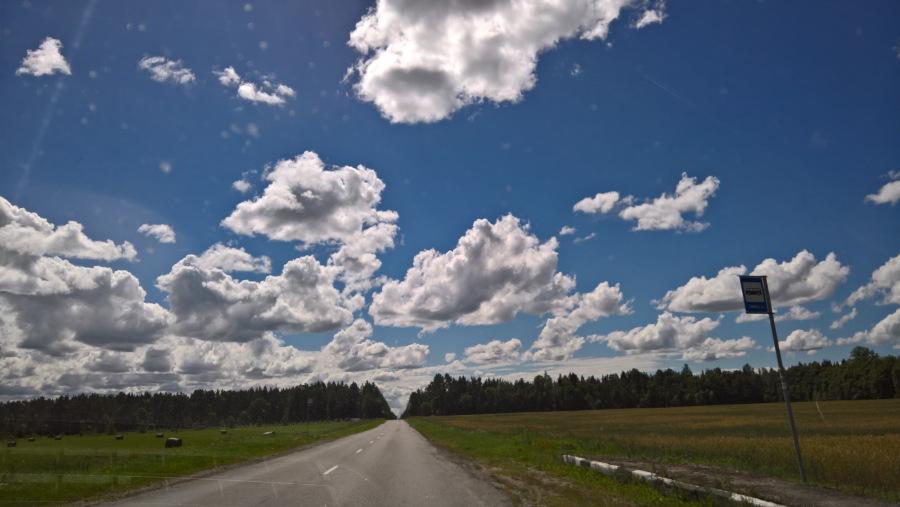 Der Himmel über Estland