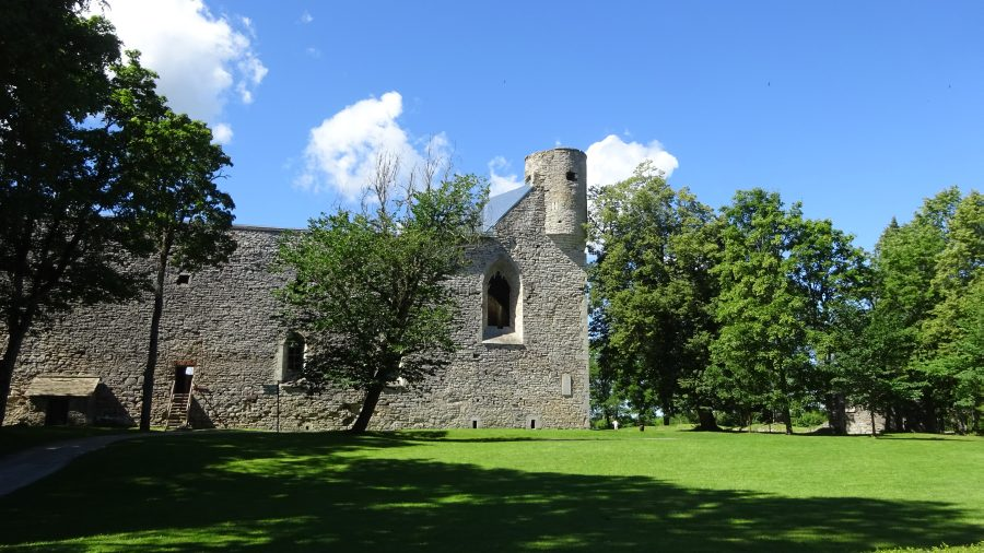 Die Klosterburg von Padiste