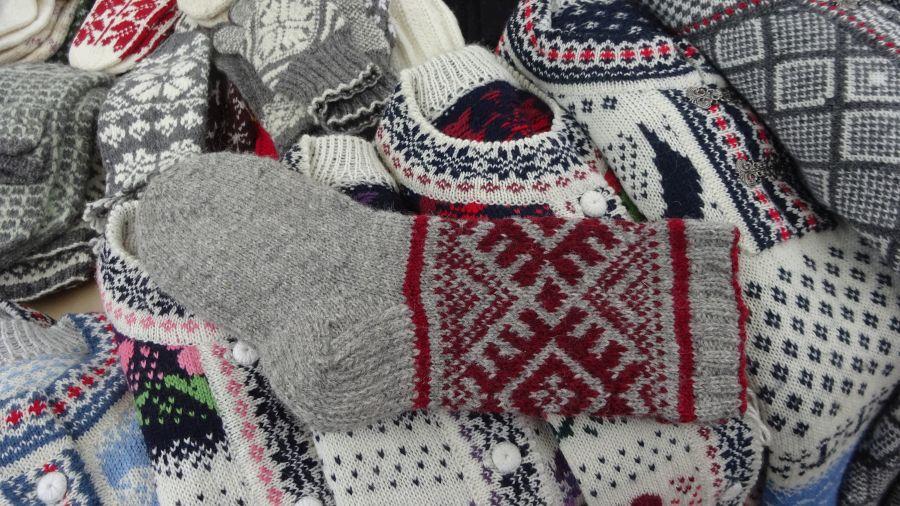 Grosse warme Socken