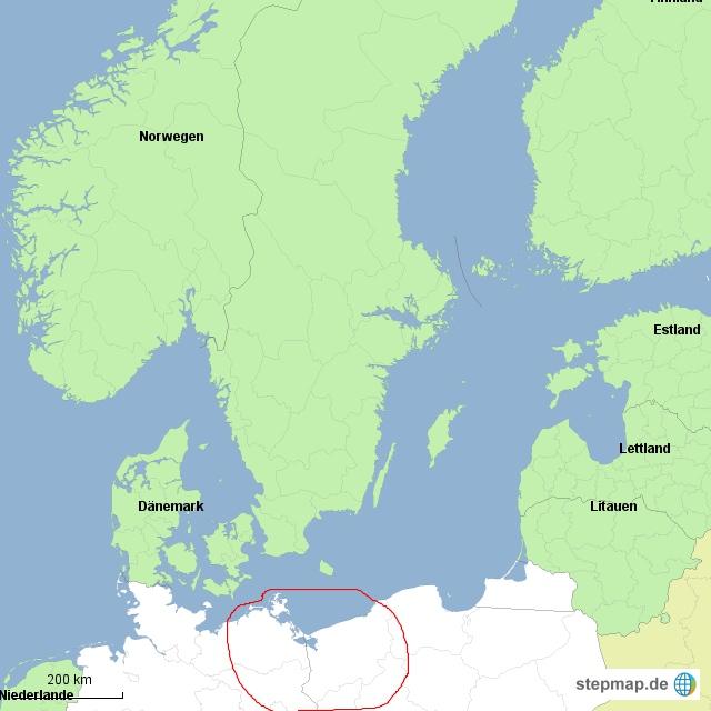 Nowa Amerika im baltischen Raum