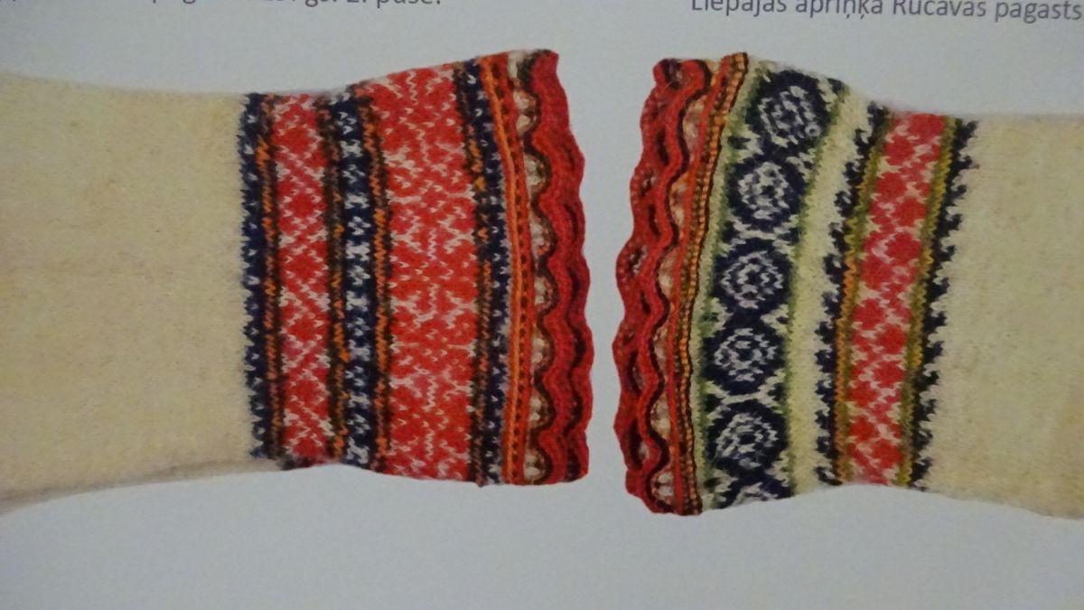 Handschuhe aus der Region Liepaja