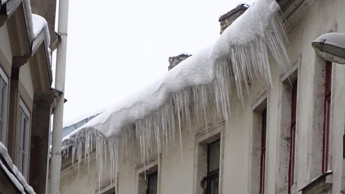 Winterliches Riga