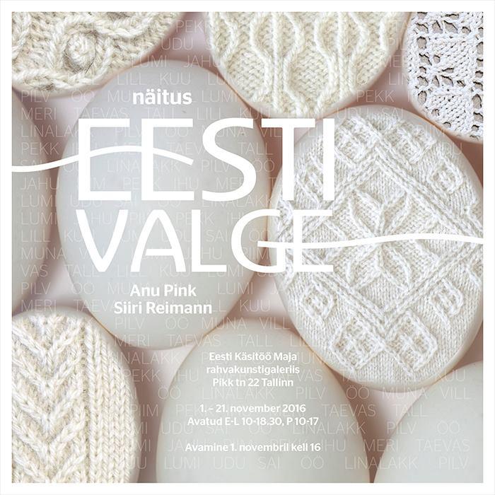 Eesti Valge – estnisches Weiß, eine Ausstellung in Tallinn