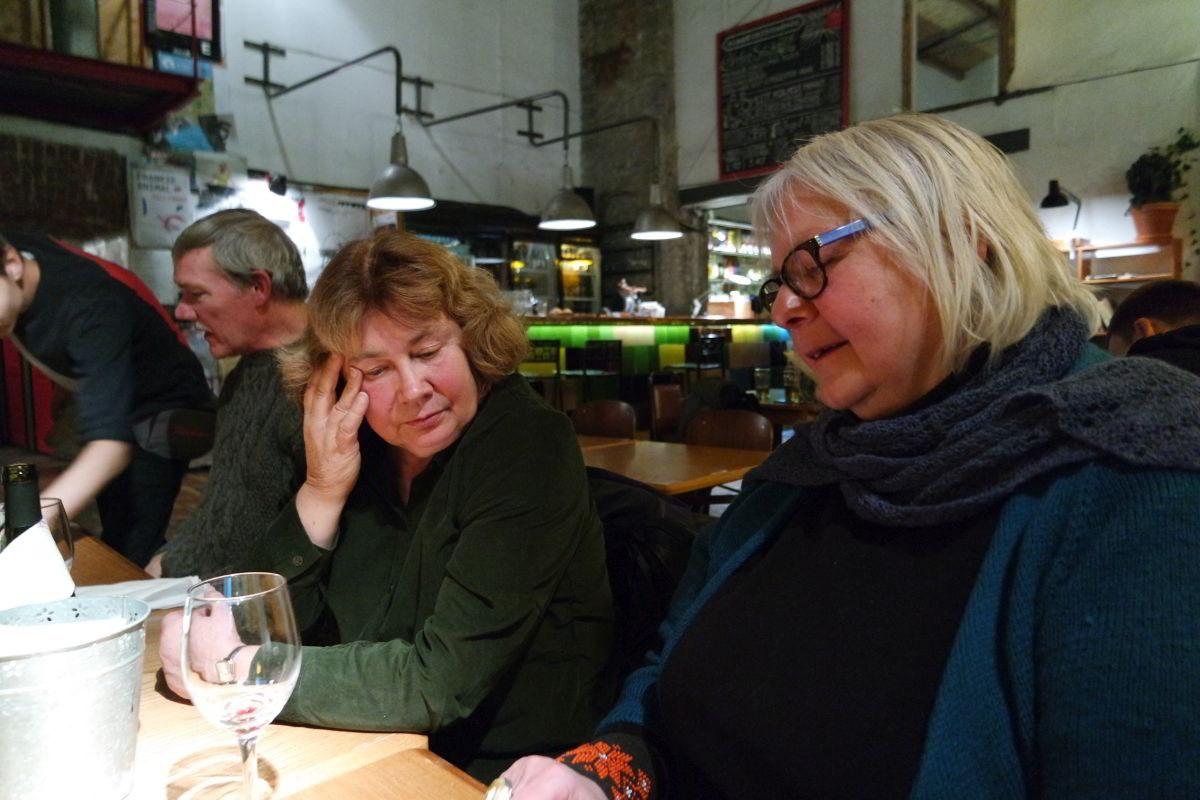 Abendessen im F-Hoone-Restaurant, Tallinn