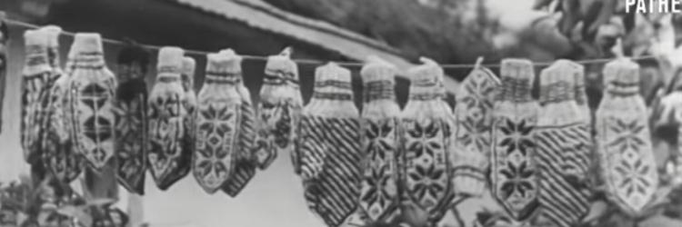 Peasants make Gloves (1948) – 2