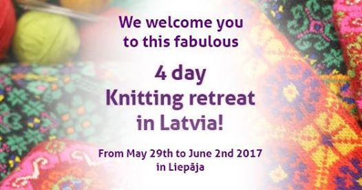 "Stricken in Kurland – ""Latvian Glove and Mitten Knitting Retreat"""