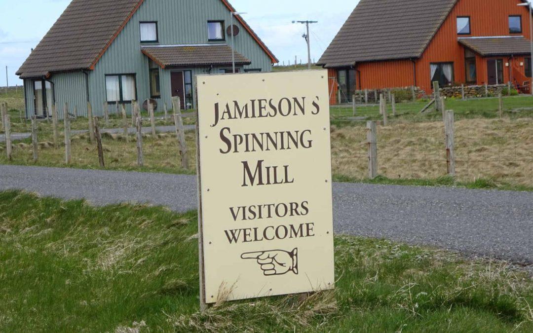 Jamieson's of Shetland – in Sandnes auf Shetland