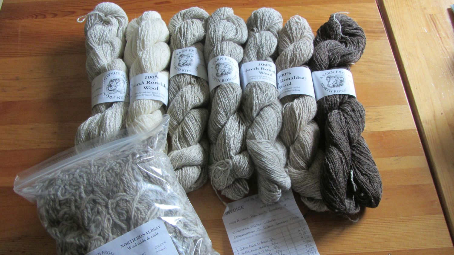 a Yarn from North Ronaldsay