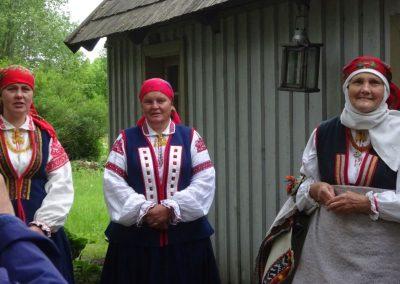 Willkommenskomitee in Rucava