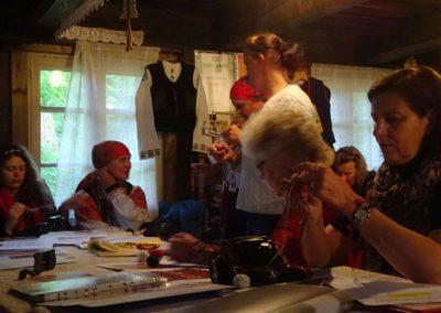 Beim ersten Workshop