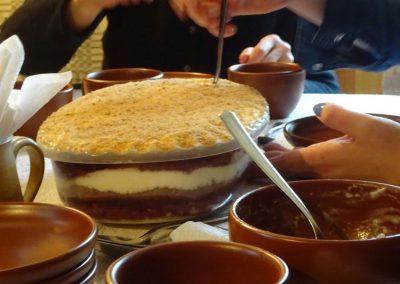 Dessert nach Art von Rucava
