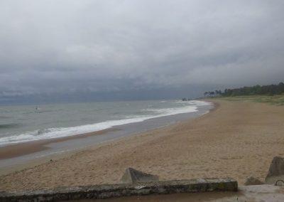Am Strand von Liepaja, oder ist es doch Shetland?
