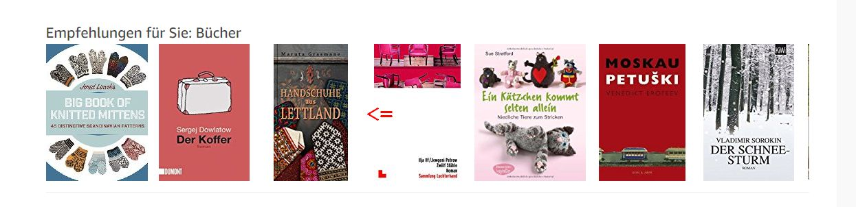 Was Amazon so alles merkt