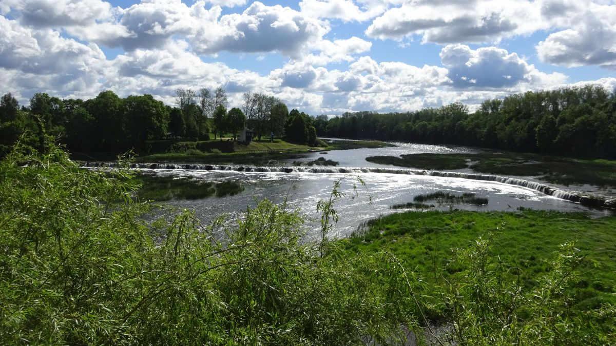 Wasserfall in Kuldiga