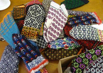 Zeitgenössische Handschuhe aus Kuldiga