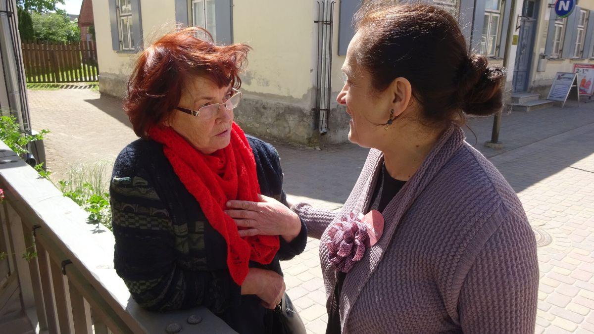 Maruta Grasmane und Ziedite Muse
