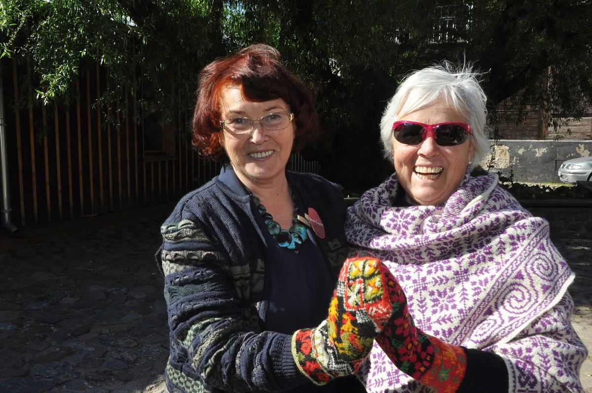 Maruta Grasmane und Jeannie Giberson