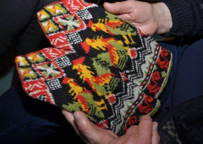 150 Jahre alte Handschuhe mit ungewöhnlichem Muster