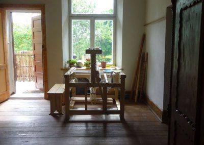 "Im Handwerkerhaus ""Kapeller"" in Saldus"