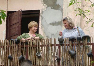 Zinta Vārpiņa und Baiba Pilāne