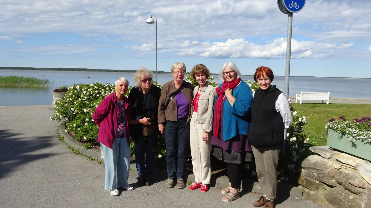 Gruppenbild in Haapsalu