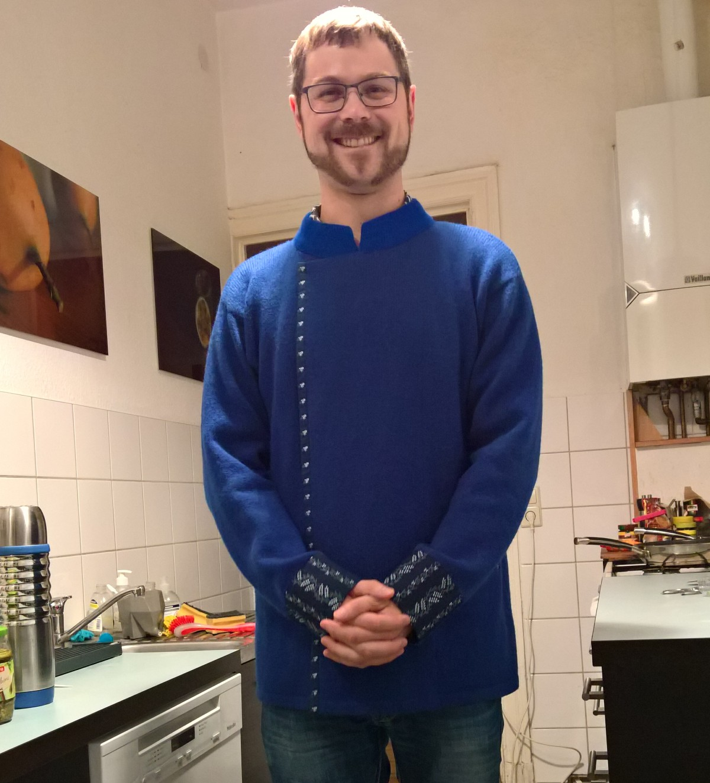 Frederic und seine Riina-Tomberg-Jacke