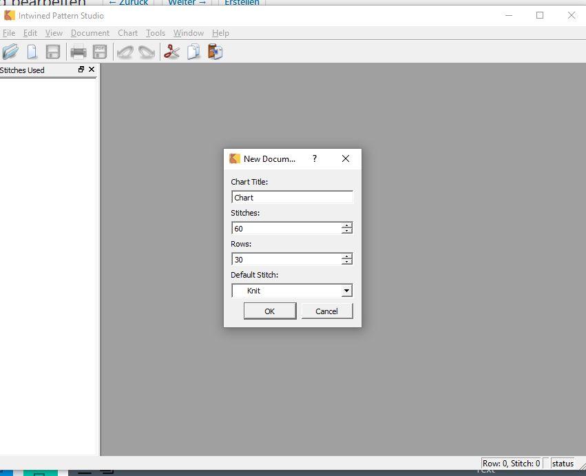 KnitBird Startscreen