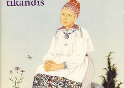 Eesti Rahvaparane taimornament tikandis