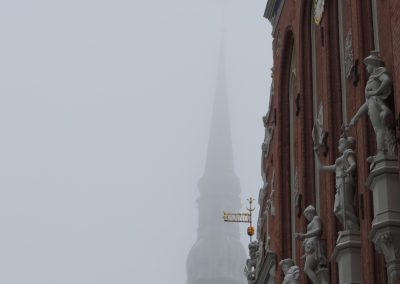 Riga: St. Peter in winter