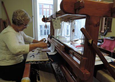 Dagnija Kupče, weaving