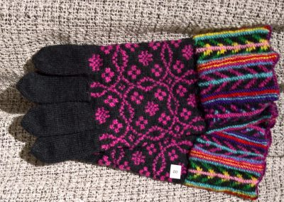 Handschuh mit besonderem Bündchen