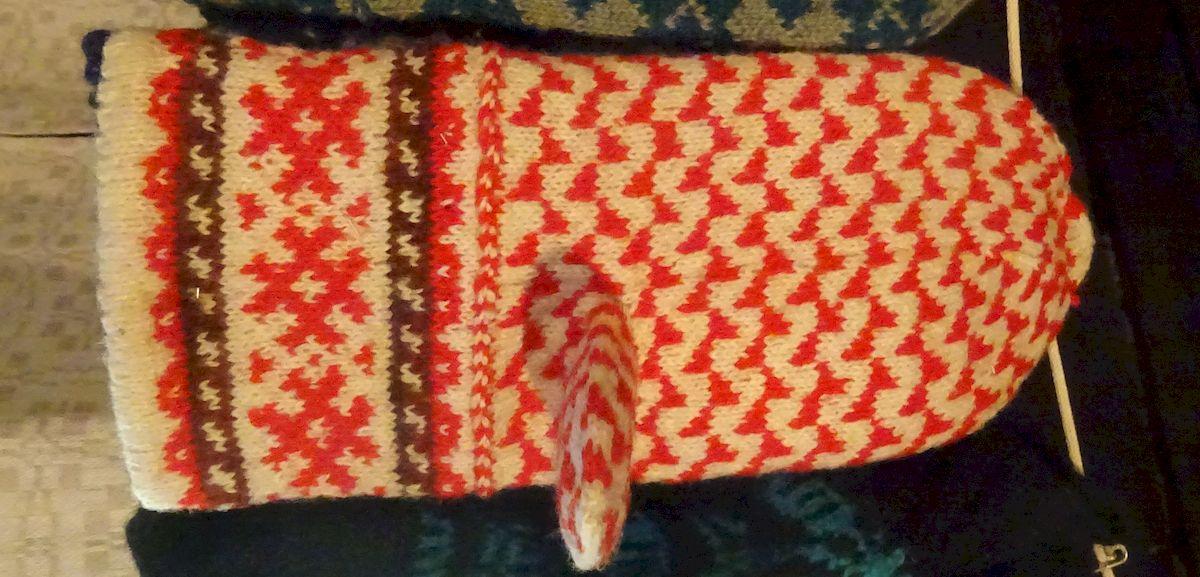 Handschuh aus Rucava