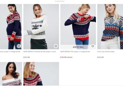 Asos Falsches FairIsle